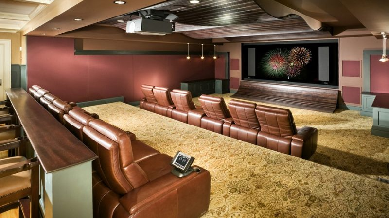 Best wall color for home theater